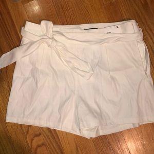 White express midi shorts